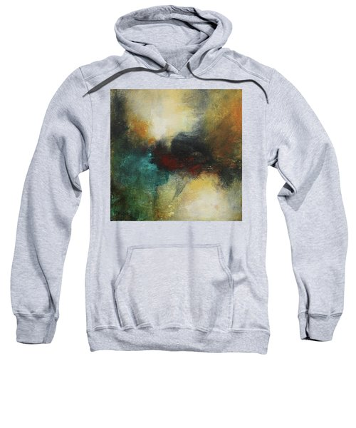 Rich Tones Abstract Painting Sweatshirt