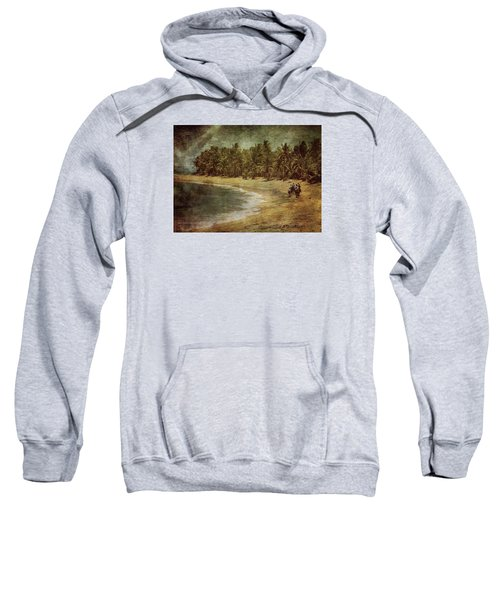 Riding On The Beach Sweatshirt