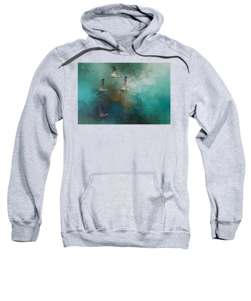 Riding The Winds Sweatshirt by Marvin Spates