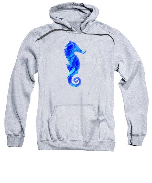 Right Facing Seahorse Bt Sweatshirt