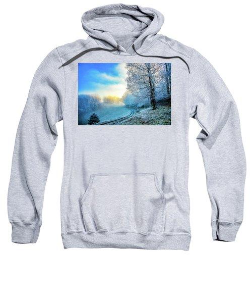 Rime Ice Sunrise Sweatshirt
