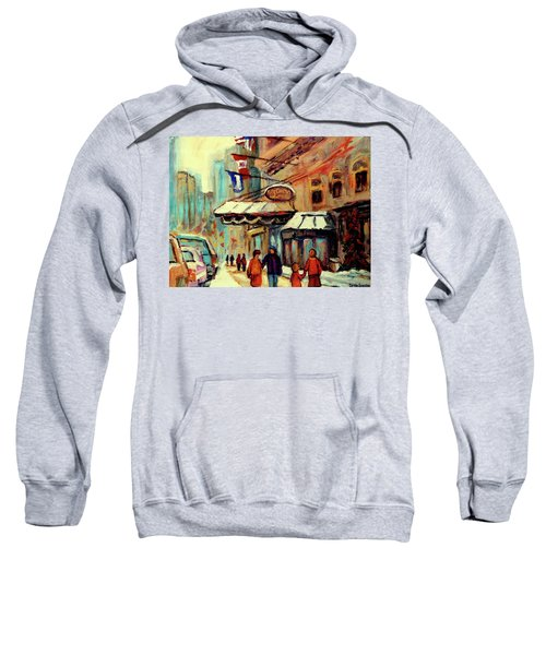 Ritz Carlton Montreal Cityscenes  Sweatshirt