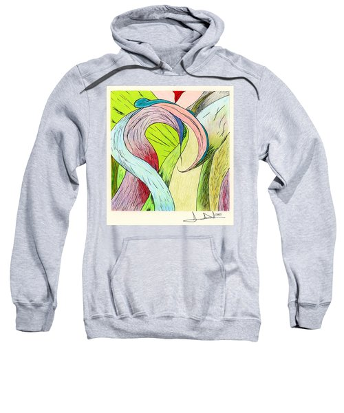 River Grass Up Close Sweatshirt