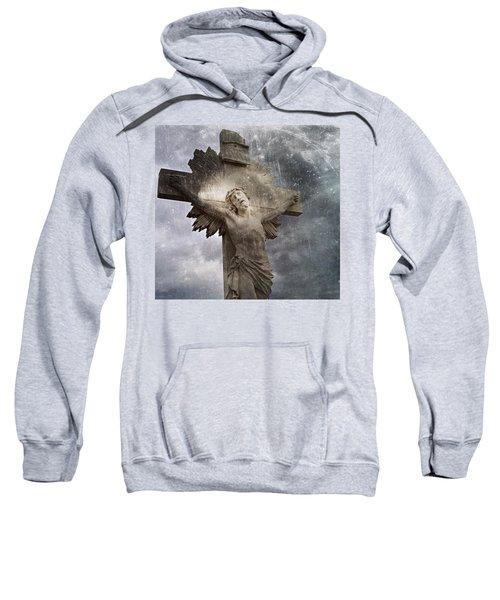 Riverside Cemetery Cross Sweatshirt