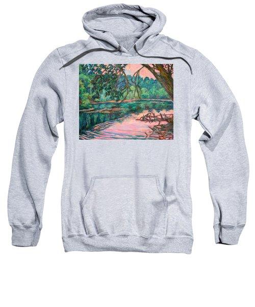 Riverview At Dusk Sweatshirt