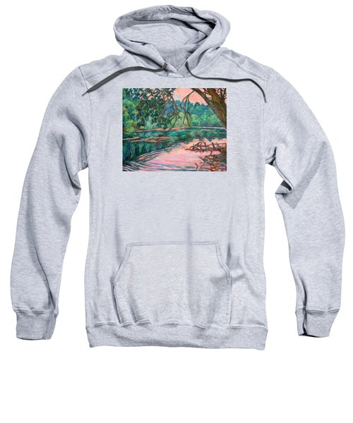 Riverview At Dusk Sweatshirt