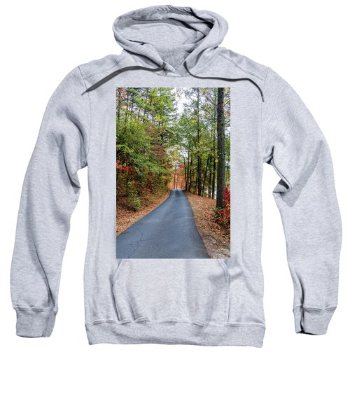 Road In The Woods Sweatshirt