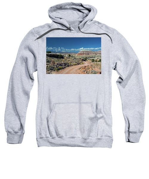Road To Cathedral Valley Sweatshirt