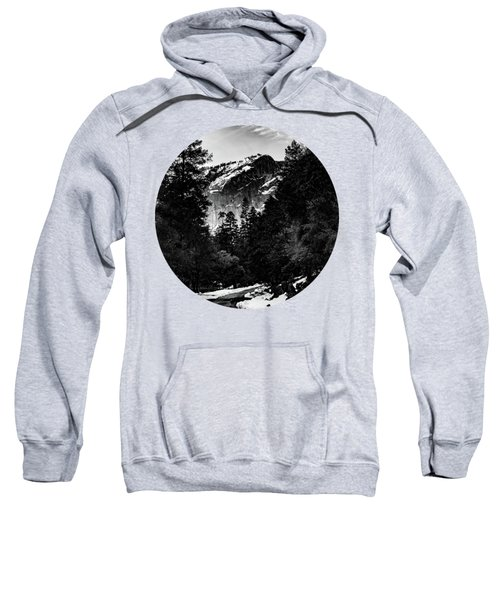Road To Wonder, Black And White Sweatshirt