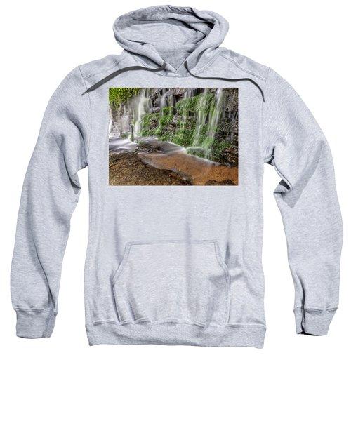 Rock Wall Waterfall Sweatshirt