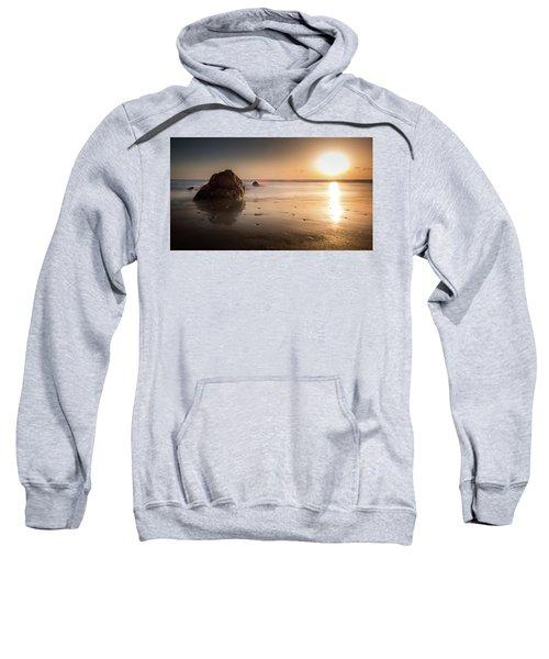 Rocks At Sunset 3 Sweatshirt