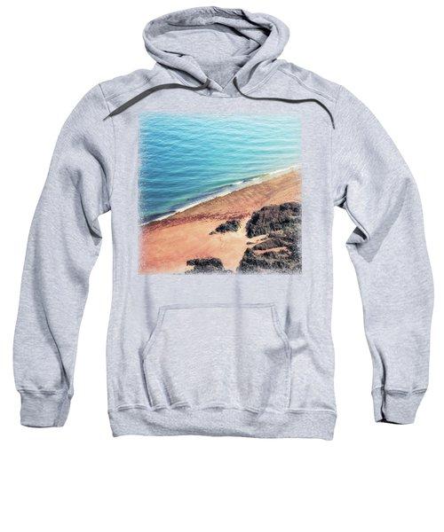 Rocky Beach Aerial Sweatshirt