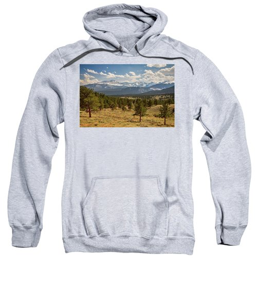 Rocky Mountain Afternoon High Sweatshirt by James BO Insogna