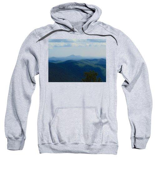 Rocky Mountain Overlook On The At Sweatshirt