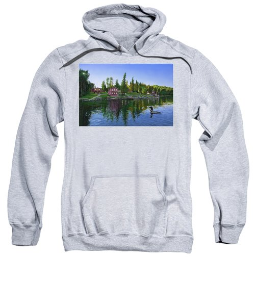 Rocky Shore Lodge Sweatshirt