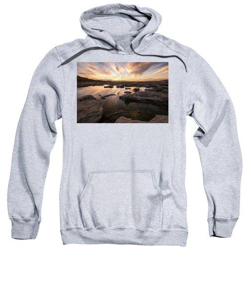 Rocky Shores Of Utah Lake Sweatshirt