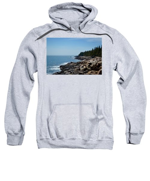 Rocky Summer Shore Sweatshirt