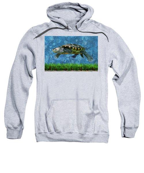 Rodney The Diamondback Terrapin Turtle Sweatshirt