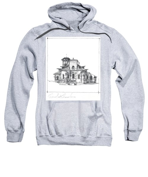 Roman Church At Chamalieres Sweatshirt