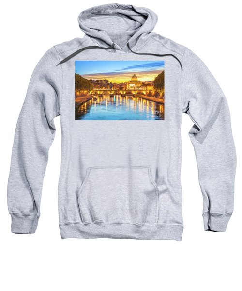 Rome At Twilight Sweatshirt