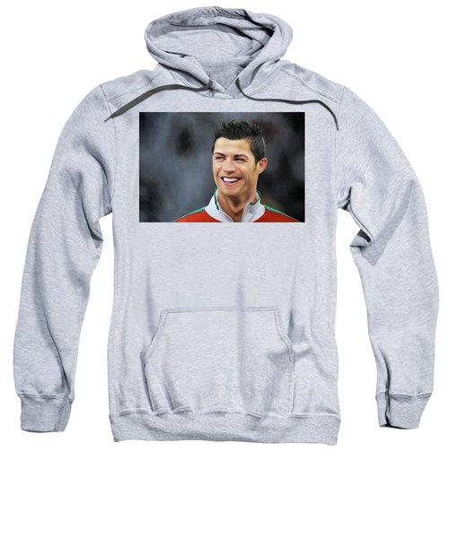 Ronaldo Oil Painting Sweatshirt