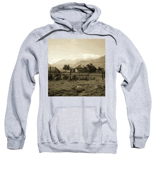 Rondavel In The Drakensburg Sweatshirt