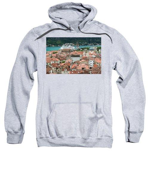 Rooftops Of Kotor  Sweatshirt