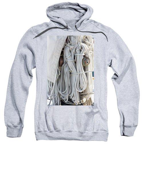 Ropes Of A Sailboat Sweatshirt