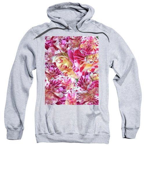 Rose Collage Sweatshirt
