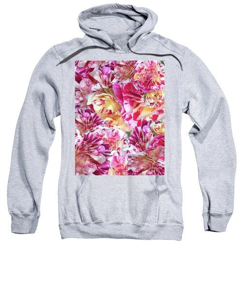 Rose Collage Sweatshirt