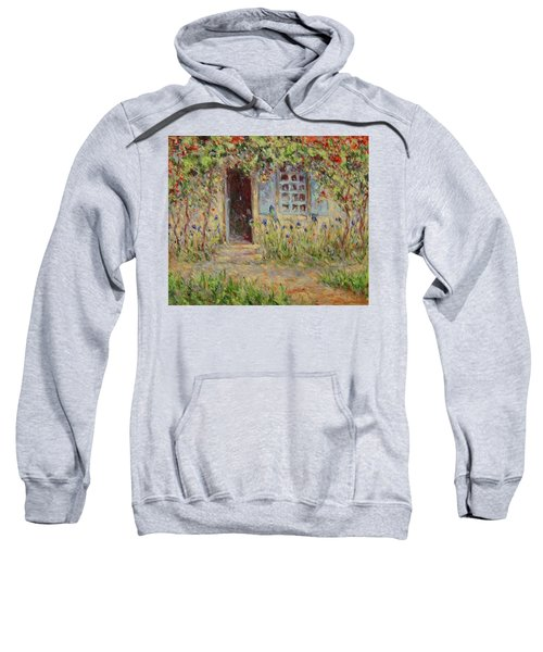 Rose Trees At The Front Of The House Sweatshirt