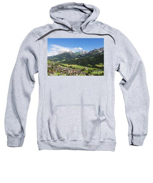 Rougemont Village In Switzerland Sweatshirt