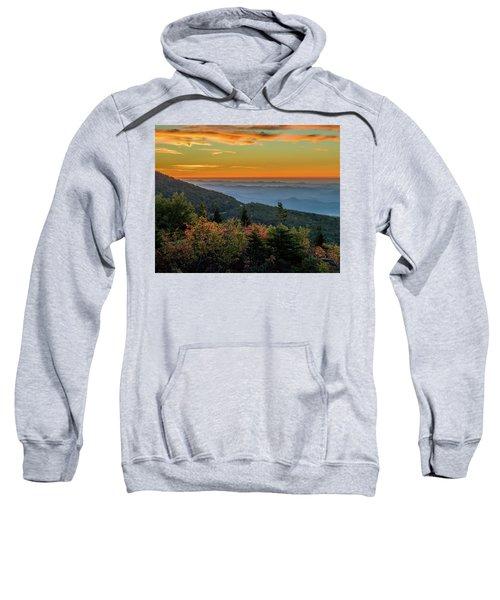 Rough Morning - Blue Ridge Parkway Sunrise Sweatshirt