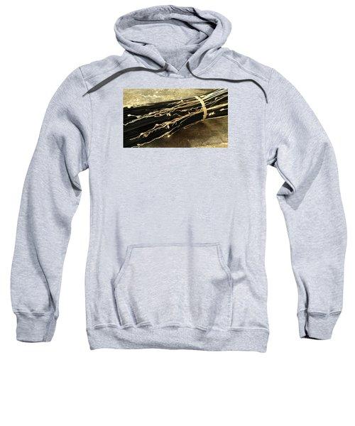 Round Black Seedgloom Sweatshirt