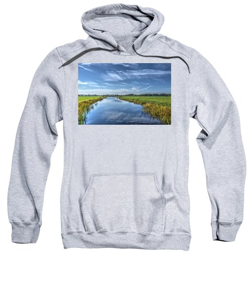 Royal Canal And Grasslands Sweatshirt