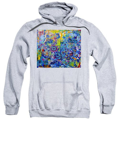 Rube Goldberg Abstract Sweatshirt