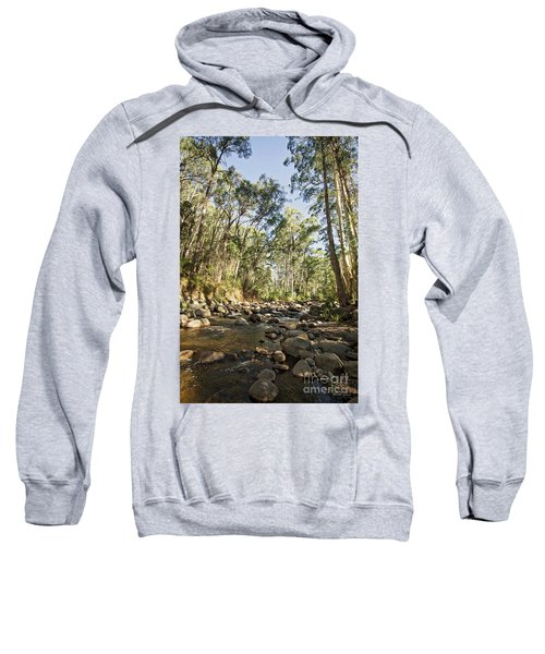 Sweatshirt featuring the photograph Rubicon River by Linda Lees