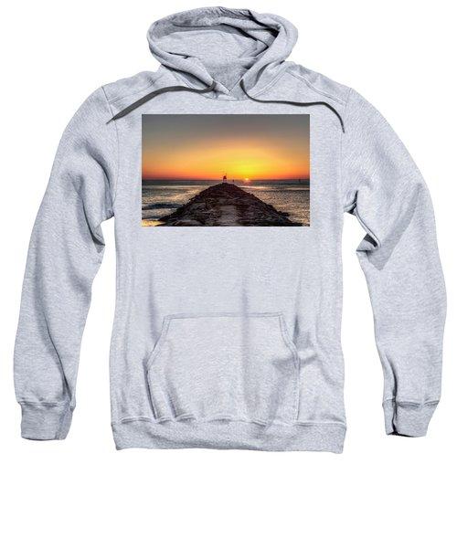 Rudee Inlet Jetty Sweatshirt