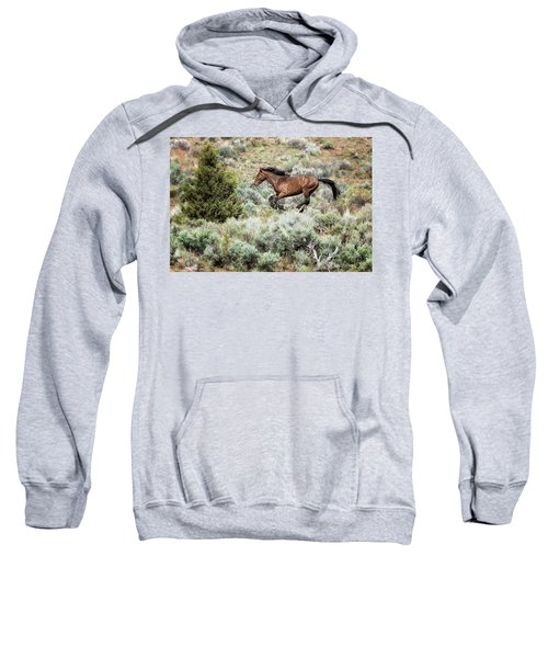 Running Through Sage Sweatshirt