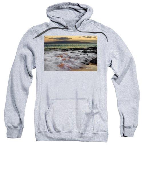 Running Wave At Keawakapu Beach Sweatshirt