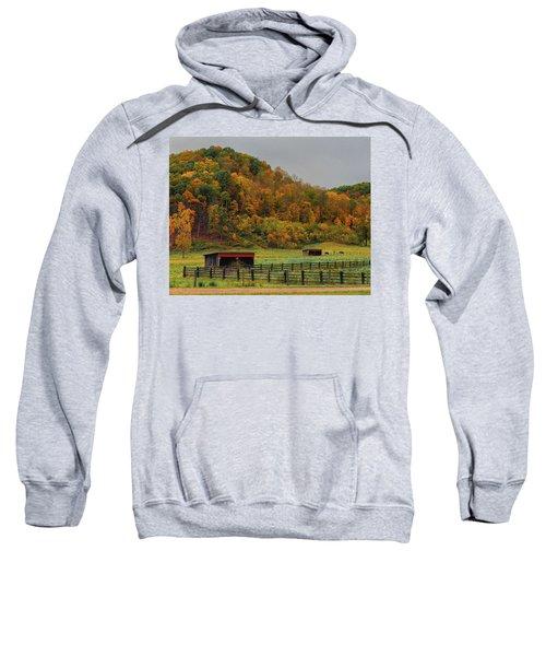 Rural Beauty In Ohio  Sweatshirt