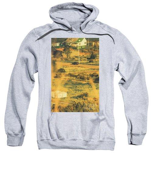 Rural Tasmania Landscape At Summer Sweatshirt