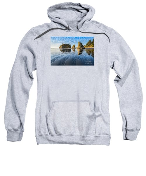 Ruby Beach Reflection Sweatshirt