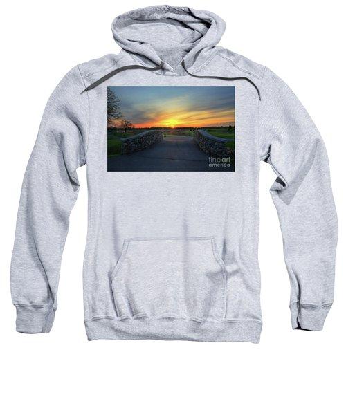 Rush Creek Golf Course The Bridge To Sunset Sweatshirt