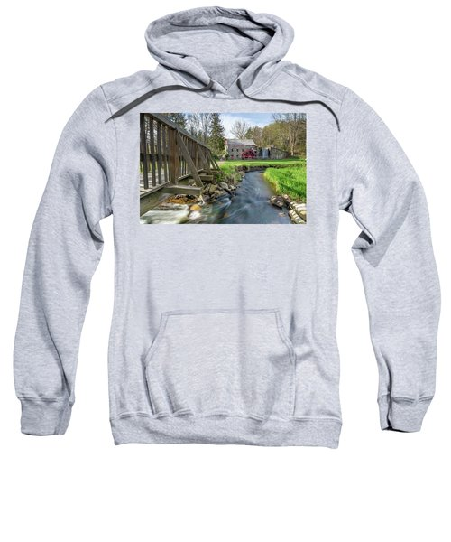 Rushing Water At The Grist Mill Sweatshirt