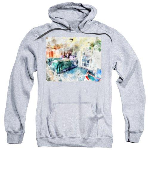 Rustic Look Bedroom Sweatshirt