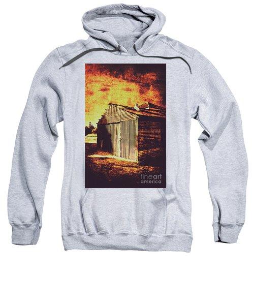 Rusty Outback Australia Shed Sweatshirt