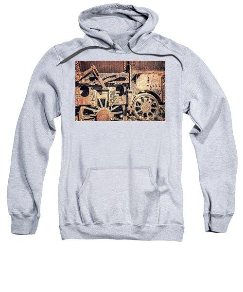 Rusty Train Wheels Sweatshirt