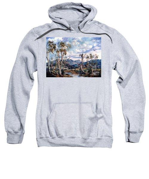 Rwetyepme, Mount Sonda Central Australia Sweatshirt