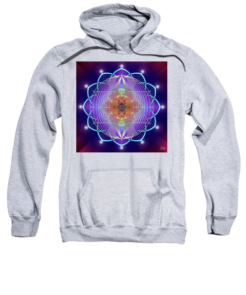 Sacred Geometry 641 Sweatshirt